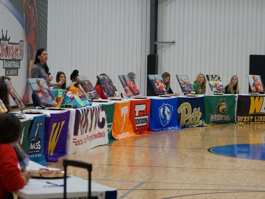 The NKYVC signing ceremony.