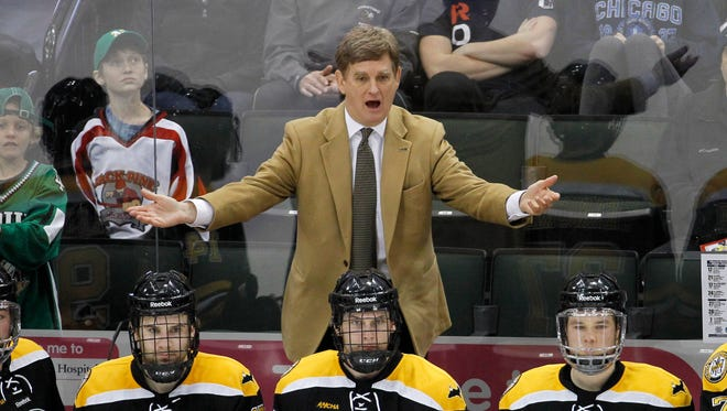 Mel Pearson returns to Michigan to replace retired coach Red Berenson.