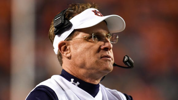 Gus Malzahn and Auburn are looking to rebound from a disappointing 7-6 season in 2015.