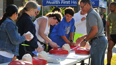 Health First against is hosting free CPR and 'Stop the Bleed' training.