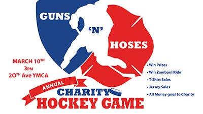 Guns 'N' Hoses Charity Hockey Game