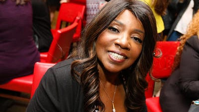 "Grammy Award-winning singer Gloria Gaynor attended the Rutgers University women's soccer team's ""Fearless Girl"" event on Sunday night."