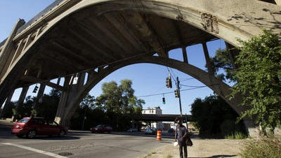 The Western Hills Viaduct is one of the most structurally deficient major bridges in Ohio.