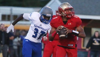 Edison takes on Sayreville on Friday, Sept. 16, 2016.