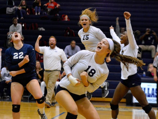 West York vs Lower Dauphin District 3 girls' volleyball semifinal