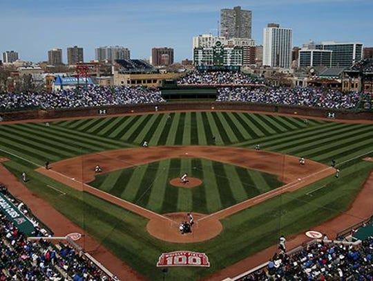 Chicago's Wrigley Field.