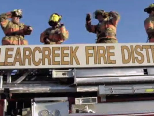 Clearcreek firefighters