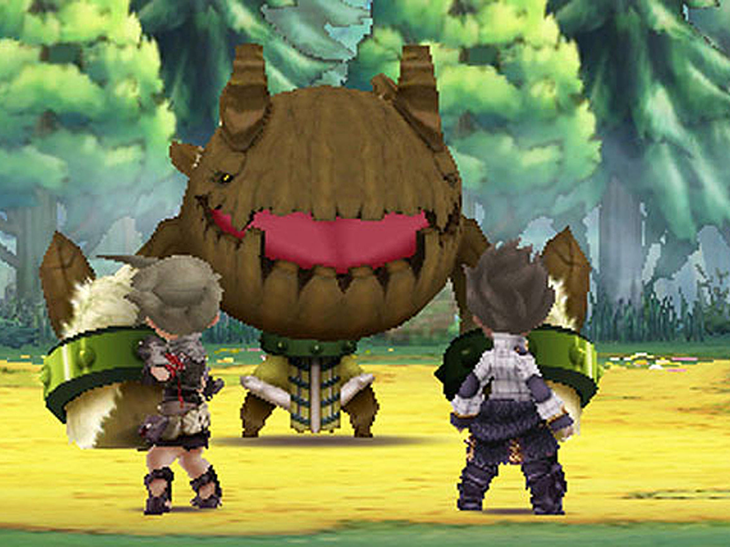 "Legend of Legacy employ a soft look and ""chibi"" characters."