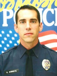 Oshkosh Police Officer Kyle Roberts