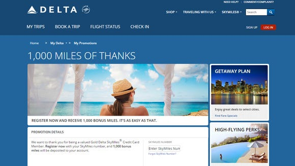 Delta and American Express are giving select Delta-branded