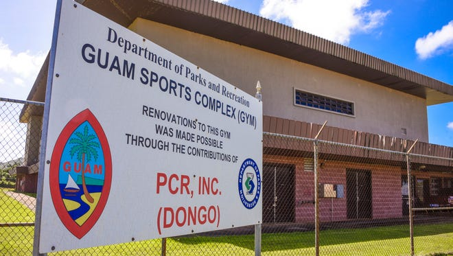The Guam Sports Complex as seen in Dededo on Tuesday, Dec. 26, 2017.