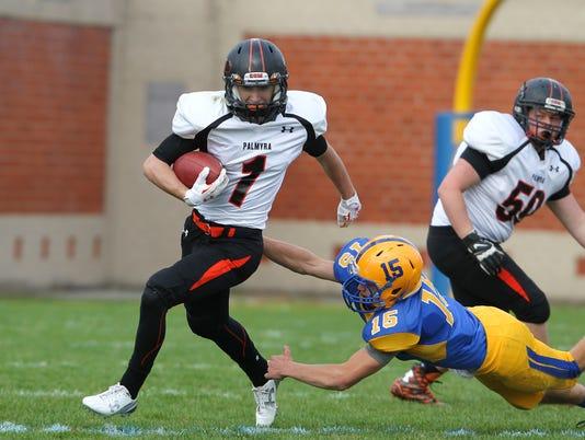 Middletown 49 Palmyra 13, Football