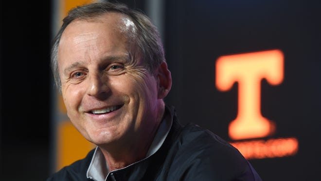 Men's basketball coach Rick Barnes is 57-44 in three seasons with the Vols.