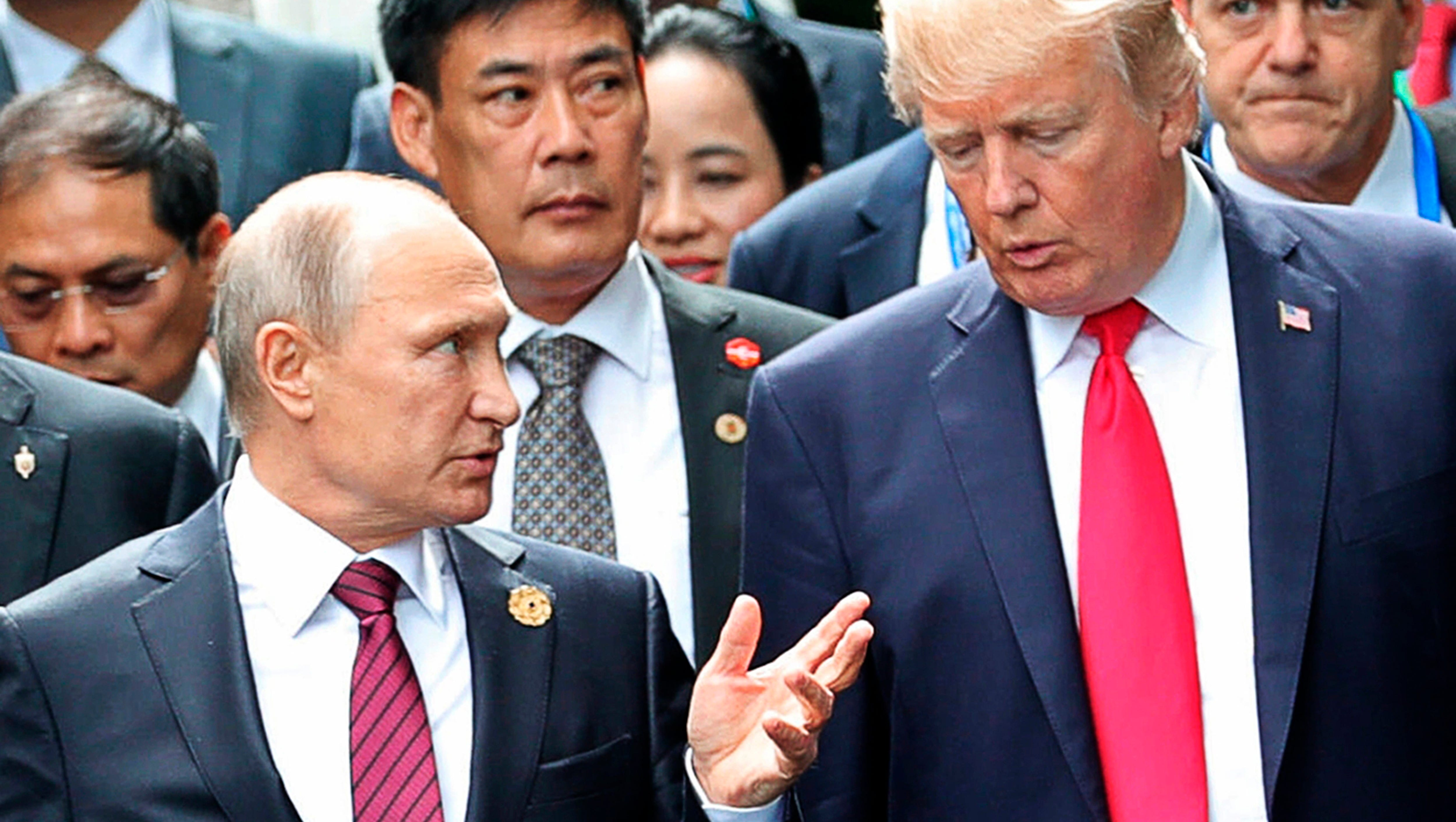 Trump S Desire To Get Close To Putin Is Enabling Russian Aggression