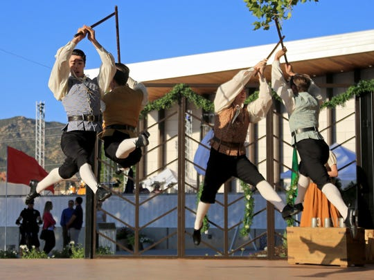 Members of the Utah Shakespeare Festival's Greenshow