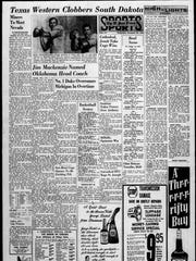 The Sports front page on Dec. 22, 1965.