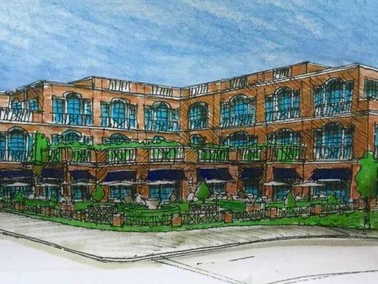 Chancellor's House sketch