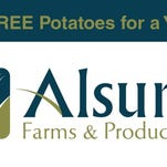 Alsum Farms, Packers name winner of free potatoes