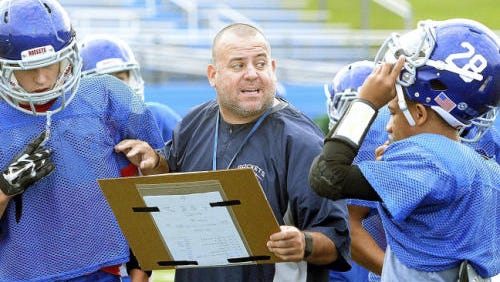 The West York Football Booster Club will induct its first seven members in its new Hall of Fame on Friday. Russ Stoner, above, is part of that first class.