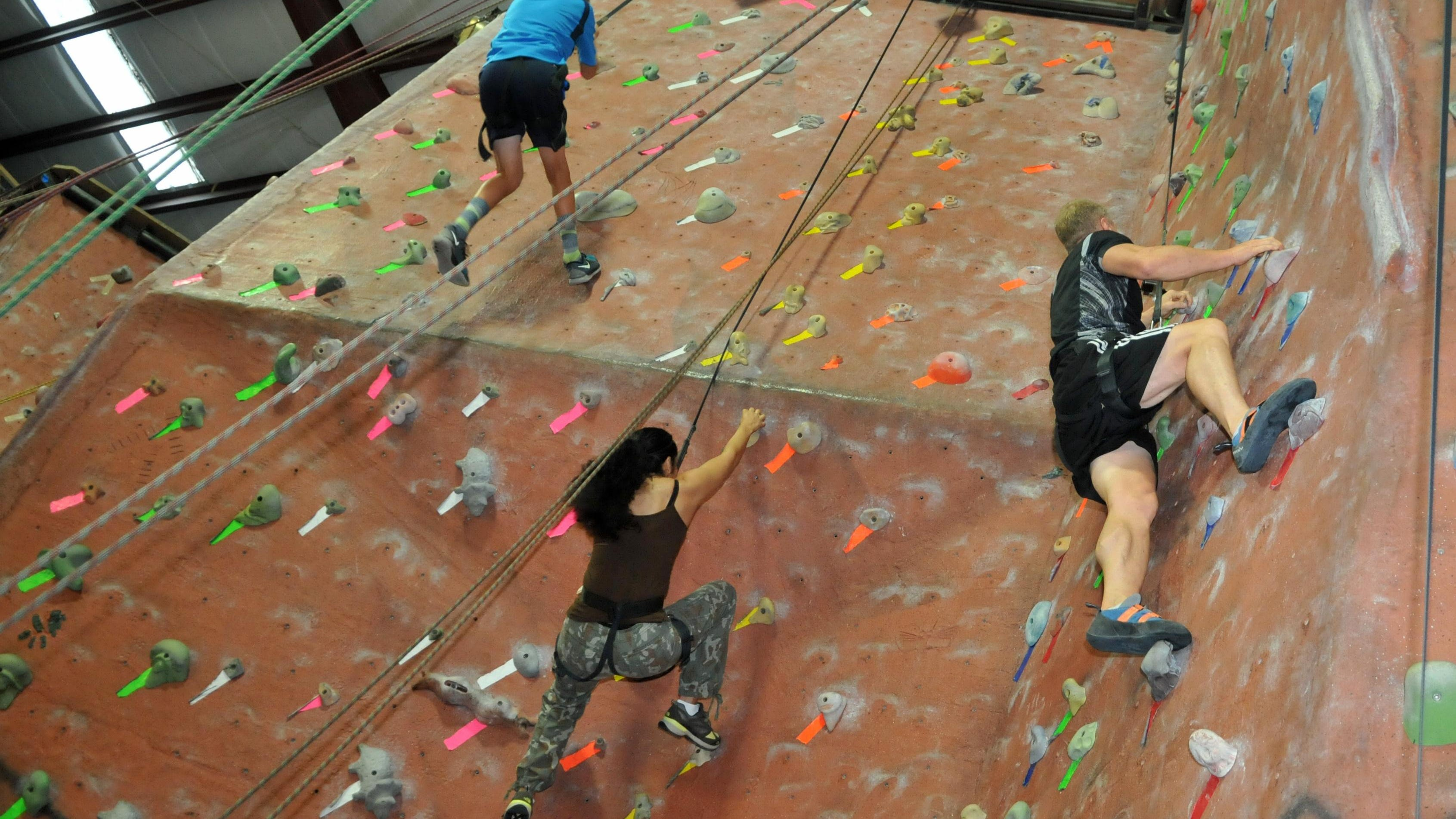 Try This Indoor Rock Climbing