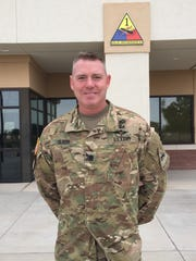 Lt. Col. Brian S. Olson led the 123rd Brigade Support Battalion on two rotations to the National Training Center at Fort Irwin, Calif.