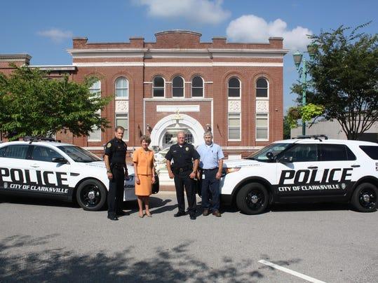 Mayor and Cop Car