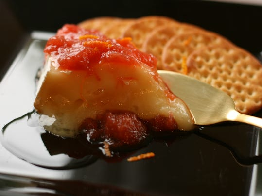 Rhubarb-Grand Marnier Compote over Warmed Brie.jpg