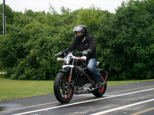 Harley-Electric Motorcycle