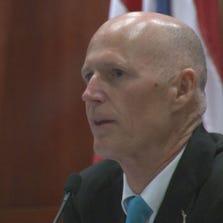 Gov. Rick Scott questions CEO of Citizen's Property Insurance