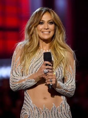 Jennifer Lopez onstage during the 2015 Billboard Music Awards at MGM Grand Garden Arena on May 17, 2015 in Las Vegas.