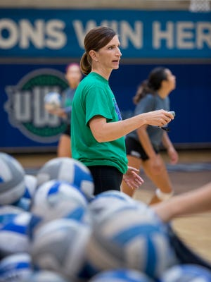 UWF volleyball head coach Melissa Wolter is ready to lead the Argos into their third decade this season. It's one of uncertainty, as COVID-19 has swept the world and put athletics on hold for months.