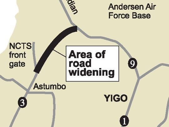 Route 3 locator map