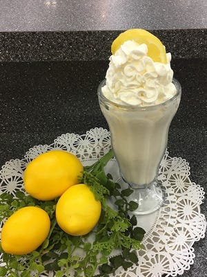 The Soda Shoppe at Reeves-Sain Drug Store is known for its milkshakes. The lemon crunch milkshake for has been featured during the month of June.