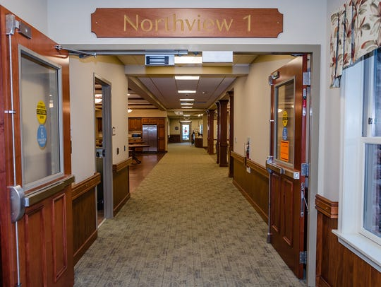 This is the entrance of Northview 1, one of the four