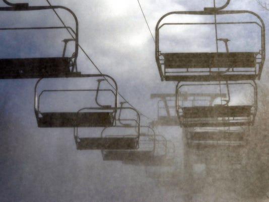 PHOTOS: Making snow at Roundtop