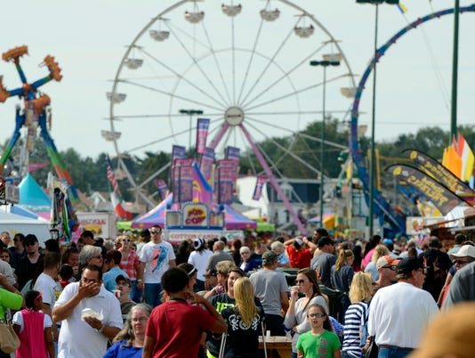 Last day of the York Fair