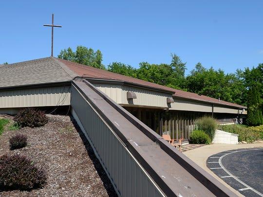 Highland United Methodist Church on West Livingston