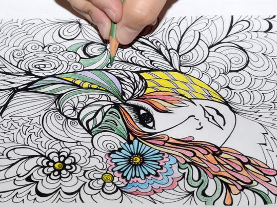 Coloring still remains a popular trend among adults.