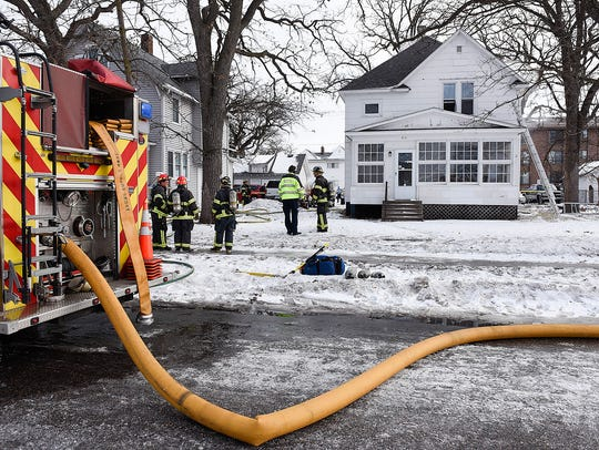 St. Cloud firefighters extinguish a fire that started