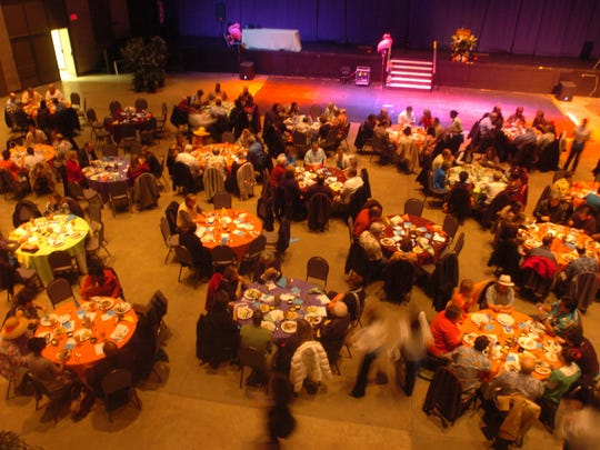 The Dream Center of Jackson's 2011 'Night in the Caribbean' banquet is seen in this file photo. This year's 'Caribbean' night is set for Jan. 21, and features country music artist T.G. Sheppard.