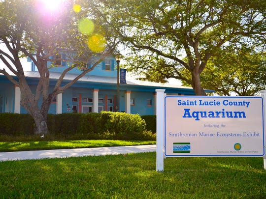 The St. Lucie County Aquarium, 420 Seaway Drive in Fort Pierce, was created and managed through a partnership between the St. Lucie County Board of County Commissioners and the Smithsonsian Marine Station in Fort Pierce.