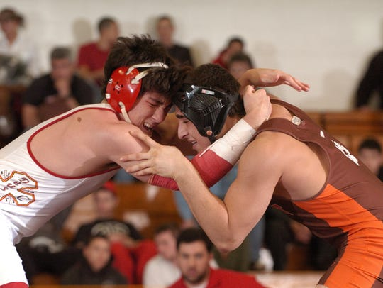 Bergen Catholic's Mike Otsuka defeated Dumont's Adem
