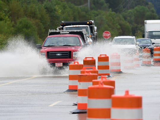 Tennessee Department of Transportation workers assisted