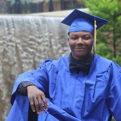 High school graduate's story is one of 'triumph over tragedy'