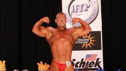 Seth Rodrigues of Oconomowoc finished first in a recent bodybuilding competition.
