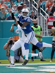 Since arriving in 2012, Vontae Davis has made two Pro Bowls for the Colts.