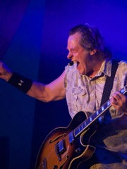 Southwest Florida Event Center usually hosts concerts with touring acts such as Melissa Etheridge, Mavis Staples and Ted Nugent (pictured). But this Friday, they're turning their parking lot into a drive-through grocery pick-up.