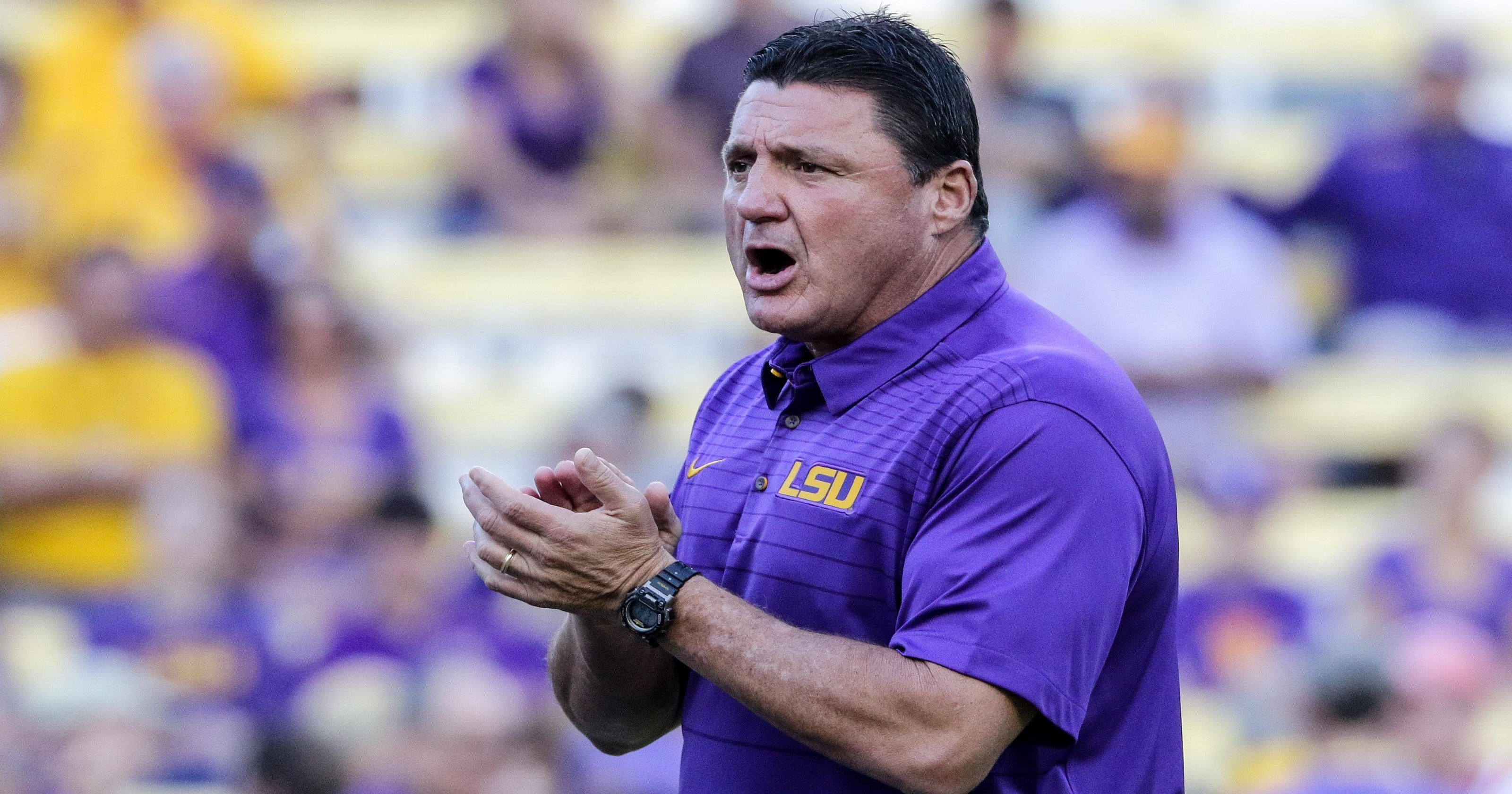 LSU fan starts fund to buy out Ed Orgeron's contract