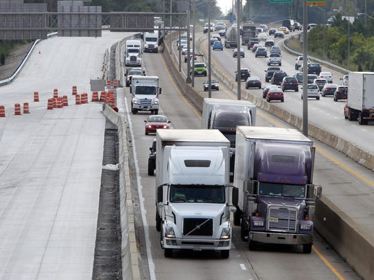 So far in 2018, 37 interstate collisions within Fort Mitchell have involved commercial vehicles.