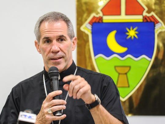 Archbishop Micheal Byrnes